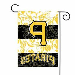 Pittsburgh Pirates MLB 13x18 Double Sided Polyester Outdoor