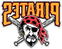 Pittsburgh Pirates MLB Baseball Car Bumper Window Sticker De
