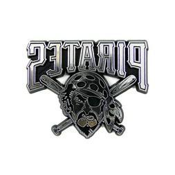 Pittsburgh Pirates MLB Chrome 3D Auto Plastic Truck Emblem D