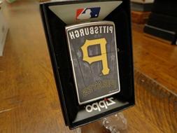 PITTSBURGH PIRATES MLB ZIPPO LIGHTER MINT IN BOX