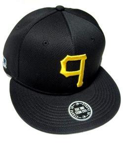 Pittsburgh Pirates MLB OC Sports Hat Cap Q3 Flat Visor Yello