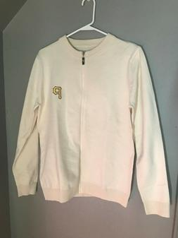 Pittsburgh Pirates Mr. Rogers Cardigan Sweater Promo NEW - A