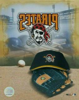 Pittsburgh Pirates Photo Cap Glove Logo MLB Baseball