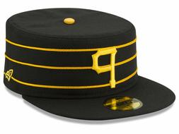 New Era Pittsburgh Pirates Pillbox 2 FItted Hat 59Fifty Blac
