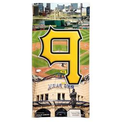 """PITTSBURGH PIRATES PNC PARK 30""""X60"""" SPECTRA BEACH TOWEL NEW"""