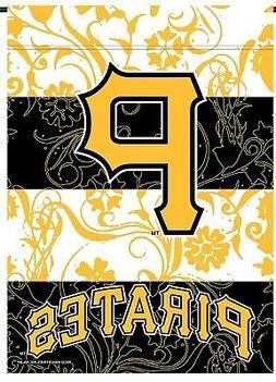 Pittsburgh Pirates Rico Premium 2-sided GARDEN Flag Outdoor