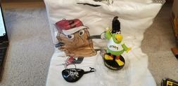 pittsburgh pirates sga lot parrot soap dispenser