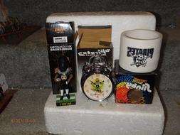 Pittsburgh Pirates SGA Lot Slinky Wall Clock Alarm Clock Bac