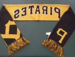 PITTSBURGH PIRATES Split Logo Reversible Scarf NEW w/tags 66