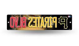 "Pittsburgh Pirates Street Sign NEW 4""X16"" ""Pirates Blvd."" Ma"