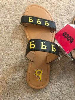 Pittsburgh Pirates Womens Flip Flop Sandals From Target