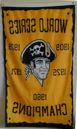 Pittsburgh Pirates World Series Champions flag 3X5FT Banner