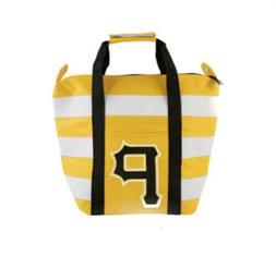 Pittsburgh Pirates Yellow Striped Freeze Insulated Tote Bag