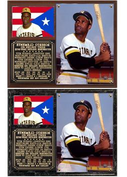 Roberto Clemente #21 Pittsburgh Pirates Photo Plaque