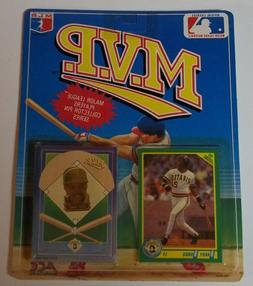 Sealed 1990 Score MVP Collector Pin/Card Set BARRY BONDS Pit