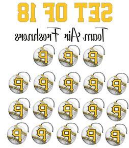 Set of 18 Pittsburgh Pirates Team Helmet Car Vehicle Room Ca