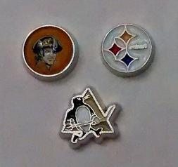 Set of 3 Pittsburgh Pirates, Penguins & Steelers Memory Lock