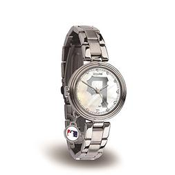 Rico Sparo WTCHA6001 MLB Pittsburgh Pirates Charm Watch
