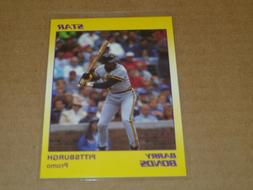 Star Company Barry Bonds YELLOW Promo Card Pittsburgh Pirate
