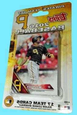 Topps Baseball 2016 PITTSBURGH PIRATES 17 CARD FACTORY TEAM