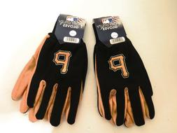 TWO  PAIR OF PITTSBURGH PIRATES,SPORT UTILITY GLOVES FROM FO