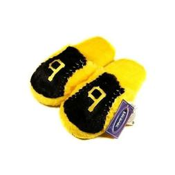 Youth Pittsburgh Pirates Plush Slippers - Size Large