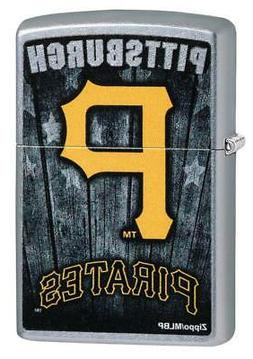 zippo mlb pittsburgh pirates baseball yellow letters